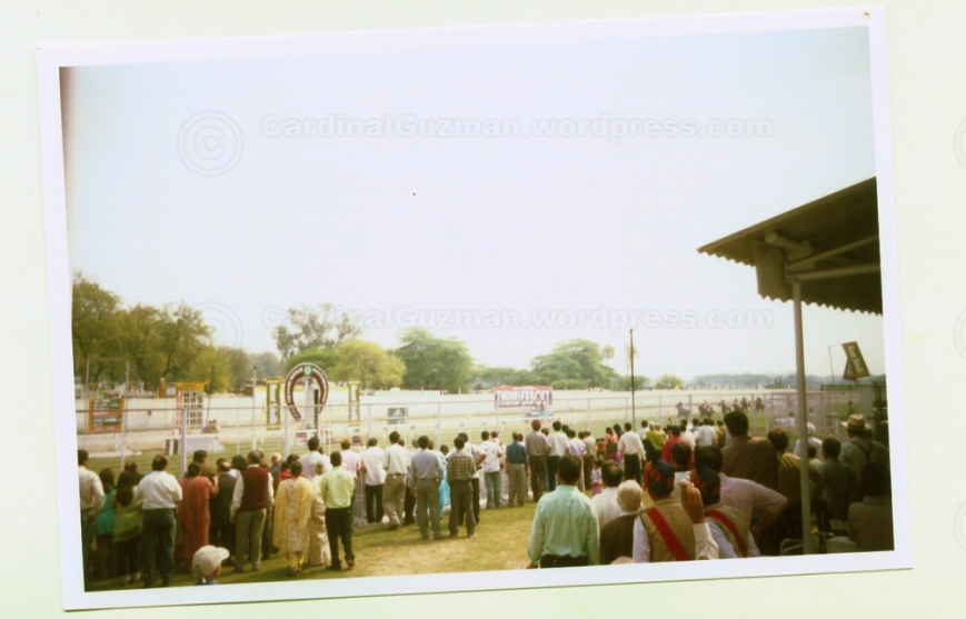 Hulchul at Delhi's horse track!