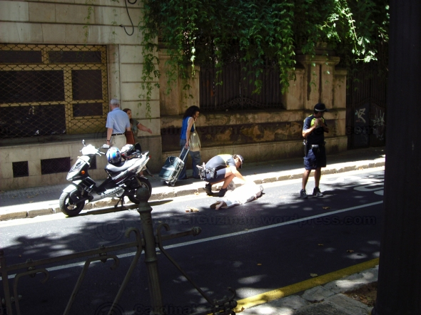 Accident at Mallorca 2010