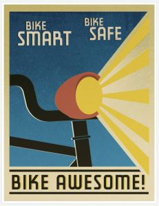 Bike Awesome Poster found on internet