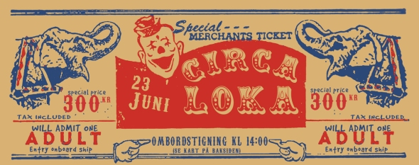Circa Loka Boat Party Ticket (click for large)