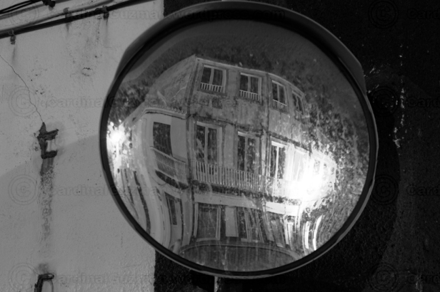 I wish that someone would think of us photographers and clean all the street mirrors in the world.