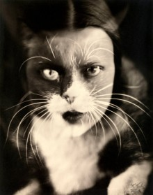 Io + gatto (Cat + I) Wanda Wulz (Italian, 1903-1984)
