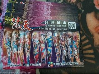 George Chou, Funtian Tattoo - Taiwan Pingtung, 梵天慶.