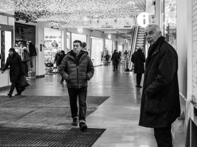"At the shopping mall ""Oslo City"" where the security crew threw us out for photographing with DSLR's."