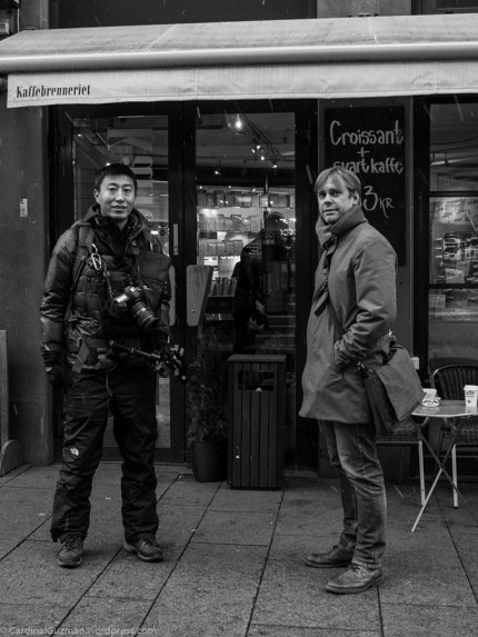 A Chinese photographer that we bumped into when I was on a photo walk with Niclas (the guy on the right).